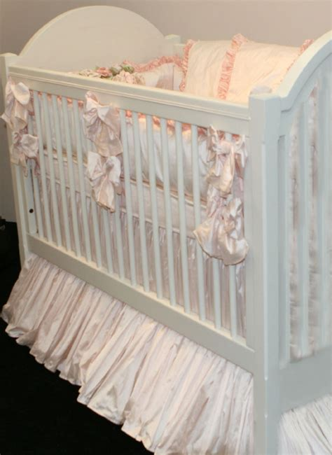 Provence Silk Crib Bedding By Lulla Smith Featured At Silk Crib Bedding