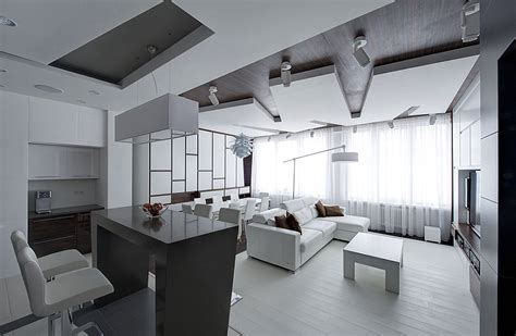 white apartments remarkable apartment in moscow combines minimalism with