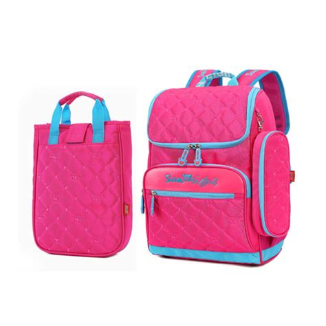 Korean Bag Tricks Pb345 ᗔ school bag set set lunch box korean style ᐃ elementary elementary school backpack