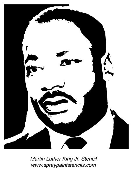 martin luther king templates