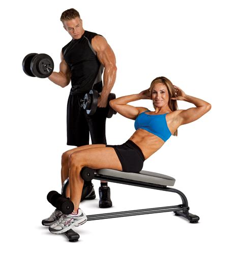 marcy ab bench marcy crunch board with 40 lb vinyl dumbbell set