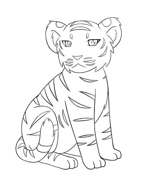 coloring page of a siberian tiger siberian tiger tattoo coloring pages