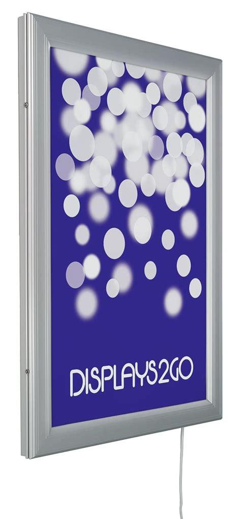 Lu Waterproof 2 X 36 24 x 36 led outdoor light box waterproof frame