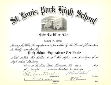 Ged Verification Letter Post War Demand For The Ged Certificate Of Higher Education Letters After Name Letter Sle