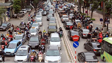 Hanoi Traffic Essay by Hanoi Traffic Propose One Person One Car Policy Tuoi Tre News