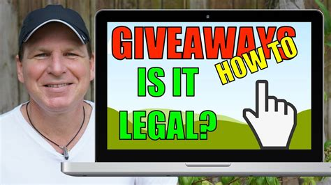 How To Do A Giveaway On Youtube - how to do giveaways part 1 is your giveaway legal youtuber law 51 youtube