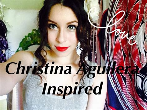 Aguilera Wants You To Be Inspired by Aguilera S Bound To You Inspired Makeup