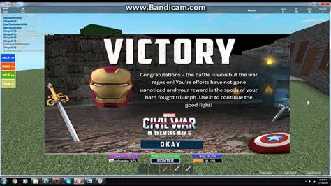 roblox battle arena iron man helmet youtube