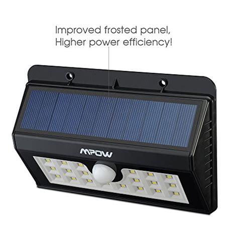 Mpow Solar Lights Bright 20 Led Solar Powered Led