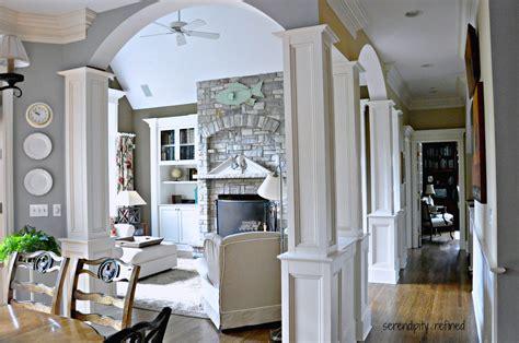 serendipity refined blog family room reveal coastal