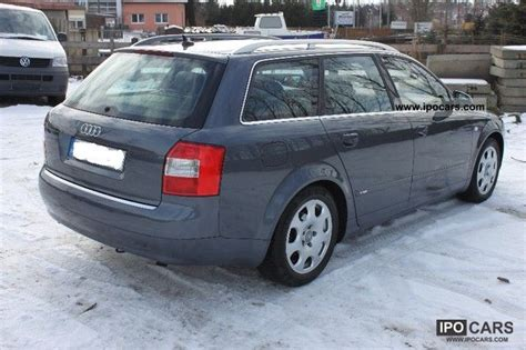Audi A4 V6 Specs by 2003 Audi A4 2 5 Tdi V6 Quattro S Line Car Photo And Specs