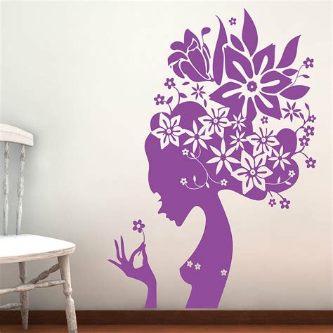 flowers wall stickers flower wall stickers by parkins interiors