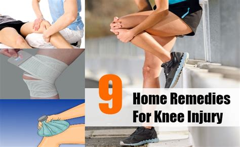 9 simple and effective home remedies for knee injury
