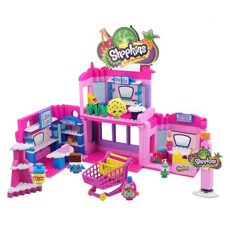 Shopkins Kinstructions Shopping Cart 37330 brag worthy new shopkins kinstructions now available in stores