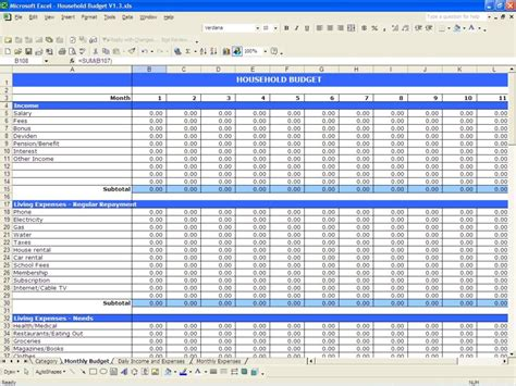 small business spreadsheet template business expenses spreadsheet template haisume