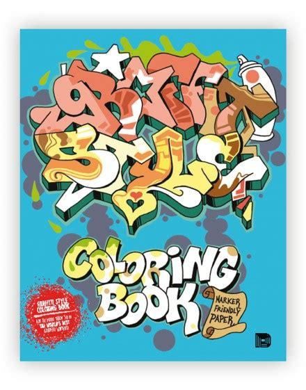 libro graffiti cookbook a graffiti style coloring book