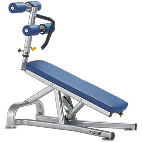 cybex sit up bench cybex free weights bent leg abdominal board