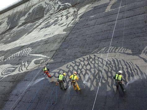 mural clean graffiti na tamie  solinie ekologiczny