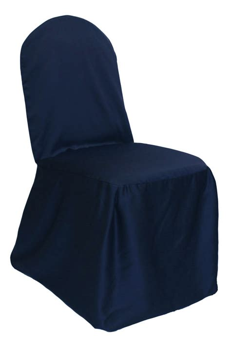 navy blue chair covers chair covers treatments cloth connection