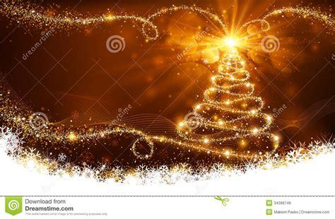 magischer weihnachtsbaum magischer weihnachtsbaum lizenzfreie stockbilder bild