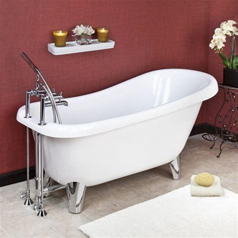 modern clawfoot bathtub modern clawfoot tub remodel bathtubs other metro by