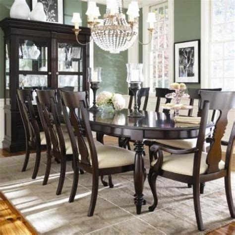 thomasville furniture dining room thomasville furniture coterie dining table chairs set
