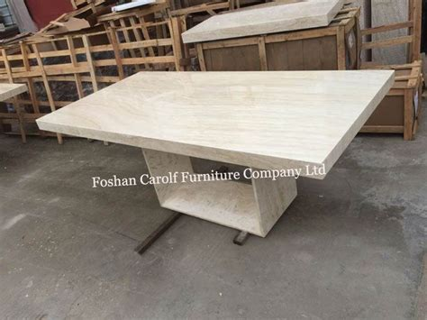 travertine marble dining table 12 seater rectangle travertine dining table designs from