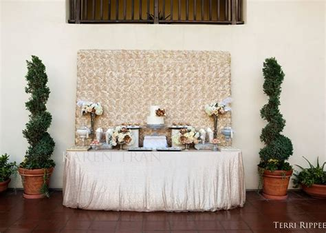 cake table backdrop decor