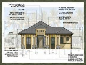 Simple House Design With Floor Plan In The Philippines by Kimora Dream Home Design Of Lb Lapuz Architects Amp Builders