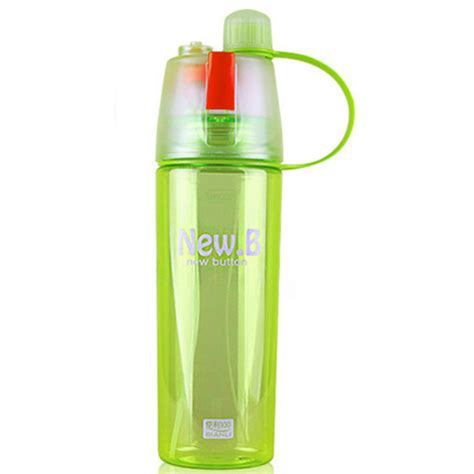 Botol Minum My Bottle Spray 600ml new b botol minum dengan spray 600ml sm 8520 green