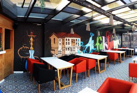 Furniture Drawing al fakheer shisha lounget 252 rkiye de graffiti sanat ve