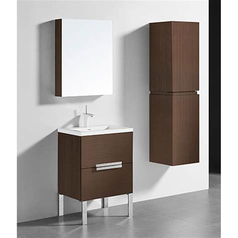 Soho Vanity by Madeli Soho 24 Quot Bathroom Vanity For Integrated Basin