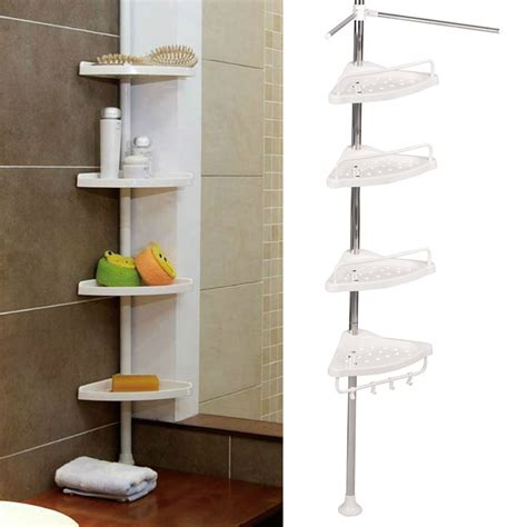 Small Corner Shelves For Bathroom Bathroom Corner Shelf Designs Home Decorations Beautiful And Functional Bathroom Corner