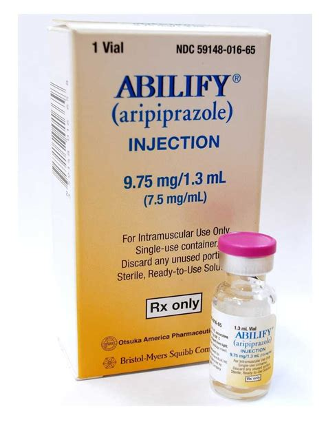 Detoxes Abilify by Abilify Aripiprazole Injection 9 75mg 1 3ml