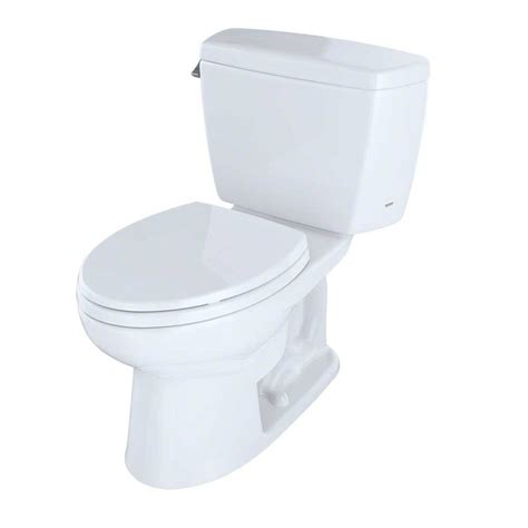 Toto Jet Shower Thx20 White toto two elongated 1 6 gpf toilet with cefiontect cotton white cst744sg 01