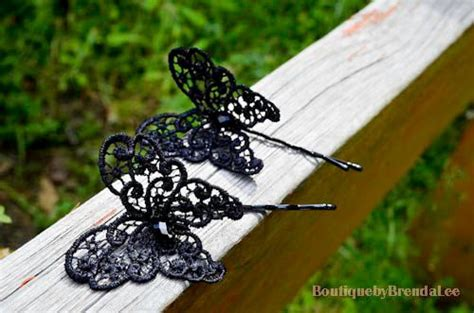 Set Of 2 Butterfly Hair Stick 1000 ideas about butterfly hair on butterfly