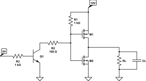 transistor mosfet para pwm microcontroller generating 12v pwm from 5v pwm electrical engineering stack exchange