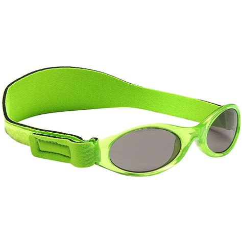 key lime green adventure kidz banz 174 sunglasses key lime green