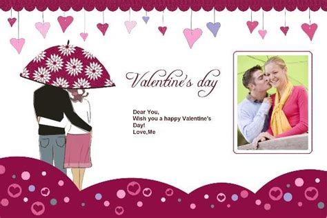 valentines card template microsoft free photo templates valentines day cards 6