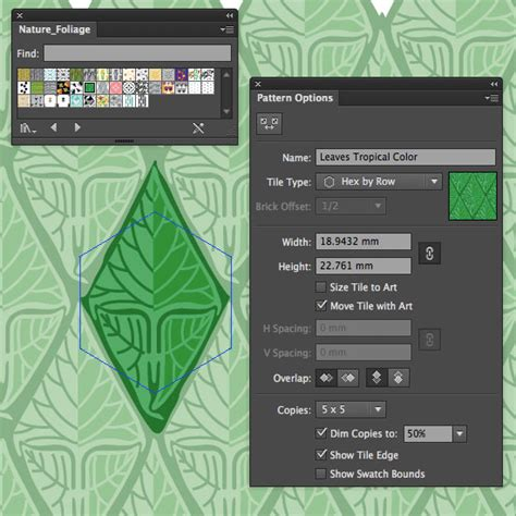 pattern illustrator edit illustrator how to make a pattern that seamlessly repeats