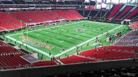 what is a section 12 mercedes benz stadium section 219 atlanta falcons