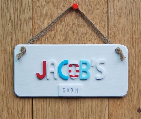 bedroom door signs white bedroom door sign with jute cord