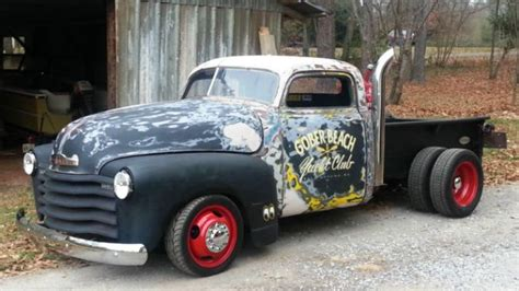 Wheels 52 Chevy Truck Custom 1952 chevrolet dually rat rod truck