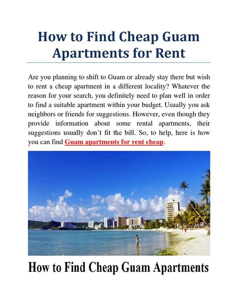 when is the cheapest time to rent an apartment guam apartments for rent cheap by james cannon issuu