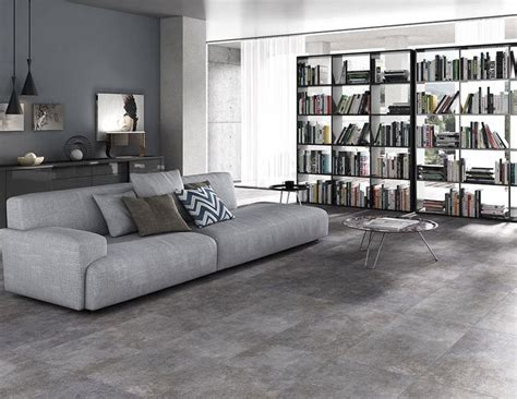 grey tile living room 7 ways to add the industrial look into your home