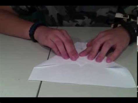 How To Make A Paper Foot - how to make a paper airplane that flies 100