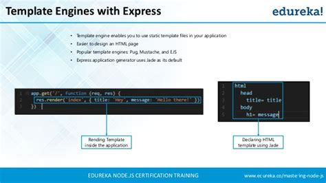 node template engine node js express tutorial node js tutorial for beginners