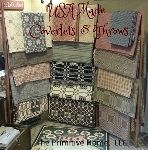 primitive coverlets family heirloom weavers coverlets and throws the