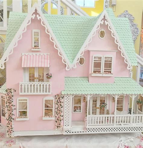 shabby doll house shabby chic dollhouse shabby chic and dollhouse furniture pinterest shabby