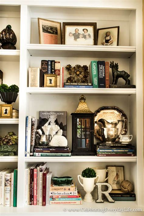 stage easy sensational bookshelves vignettes